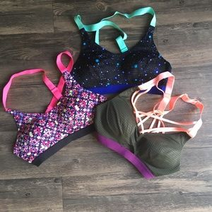 Victoria's Secret Intimates & Sleepwear - Victoria's Secret Green Strappy Sports Bra